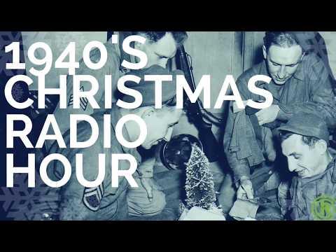1940s Christmas Gathering