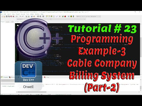 Tutorial#23 - Programming Example-3 (Cable Company Billing) | Control Structures | Part-2 thumbnail