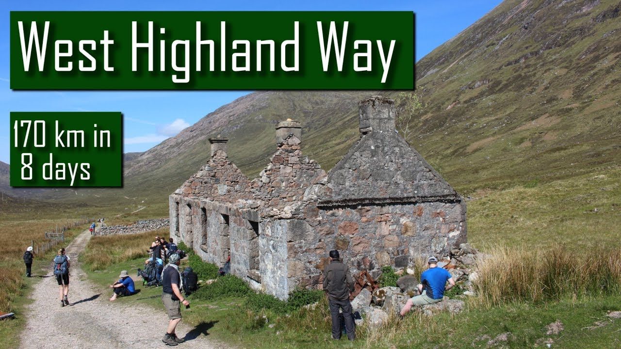 West Highland Way in 8 Days - Hiking, Wild Camping, Surviving