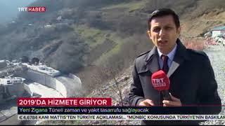 zigana tüneli TRT Haber 9 şubat 2018