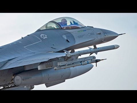 """""""FIGHT TONIGHT""""! USAF 354TH Fighter Wing conduct """"pretend war"""" exercises to PROMOTE READINESS."""