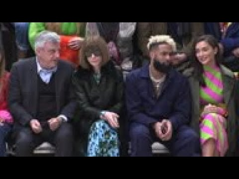 Anna Wintour, Odell Beckham Jr. sit front row at JW Anderson show