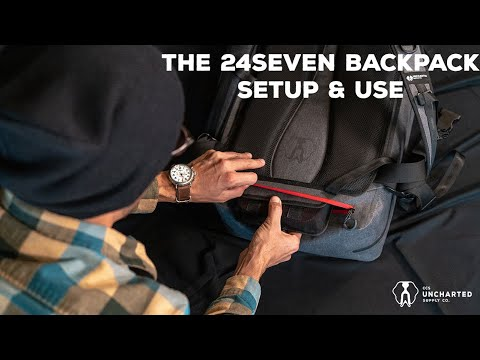 UNBOXING: The 24Seven Backpack // From Uncharted Supply Company