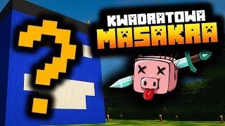 Minecraft: NA KWADRATOWEJ MASAKRZE POJAWIŁA SIĘ MOJA GŁOWA!