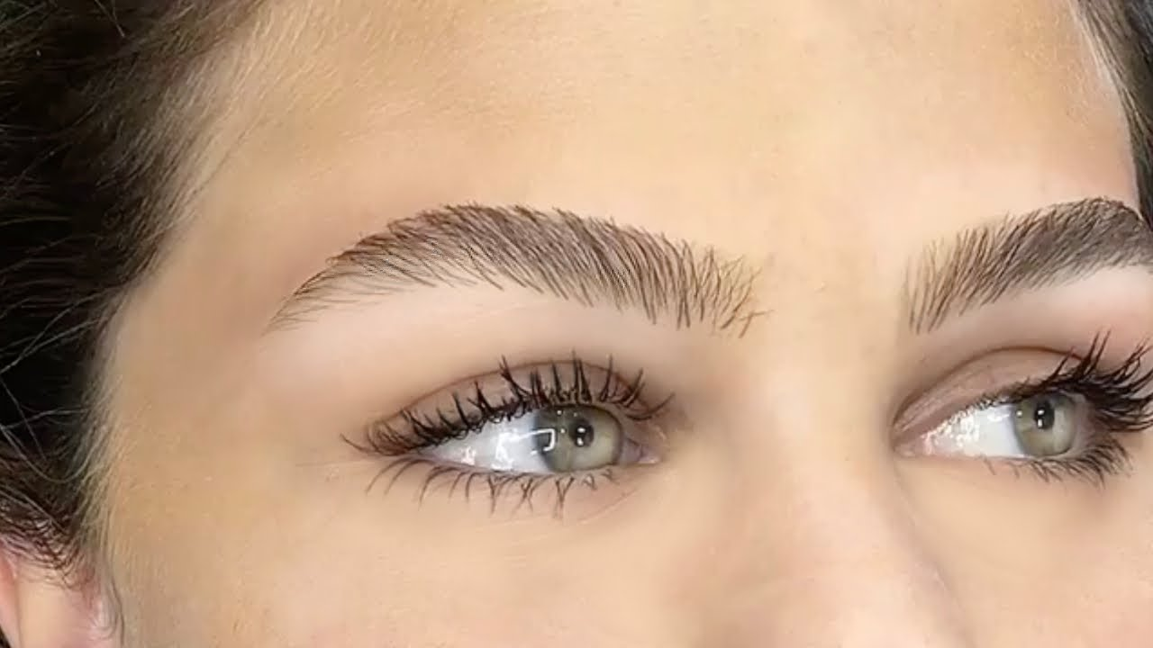 Perfect Brow Hair Stroke Technique Youtube