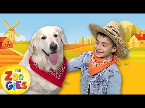 BINGO Dog Song   Nursery Rhymes by Zouzounia TV