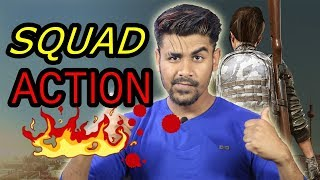 Squad Action  |  PUBG Mobile Live Stream