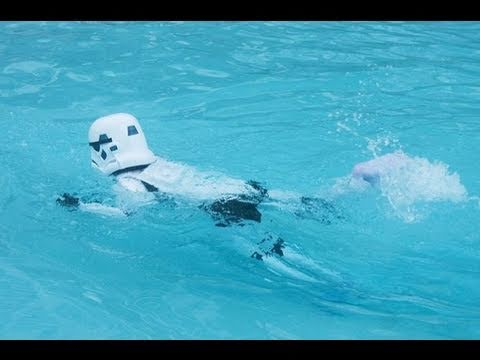 Caption Contests Swimming Storm Trooper Ninja Cat And More Youtube
