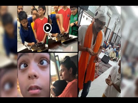 Ajay Devgn-Kajol's Cutie Yug Devgn Attacks The Cake With The Knife During His 9th Birthday Mp3