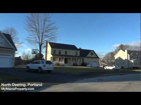 Real Estate Tour of North Deering, Portland, Maine