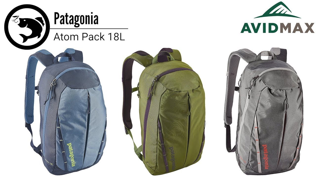 bf01decf281 Patagonia Atom Pack 18L Review | AvidMax - YouTube