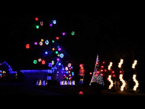 Metallica Christmas Lights -