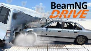   BeamNG Drive (Techdemo)   Un Motore Fisico D'Incidenti Molto Realistico  