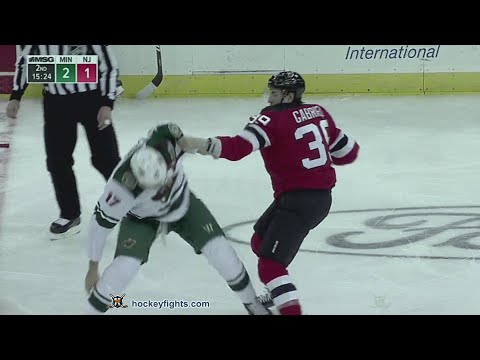Marcus Foligno vs Kurtis Gabriel Feb 9, 2019