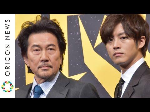役所広司×松坂桃李 刑事役でバディ組む 映画『孤狼の血』製作発表