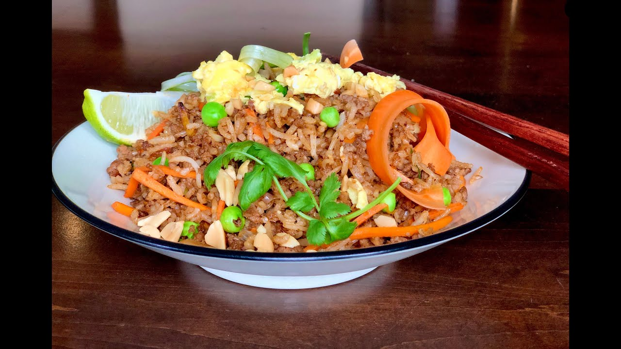 Quarantine Thai Fried Rice | Christine Cushing
