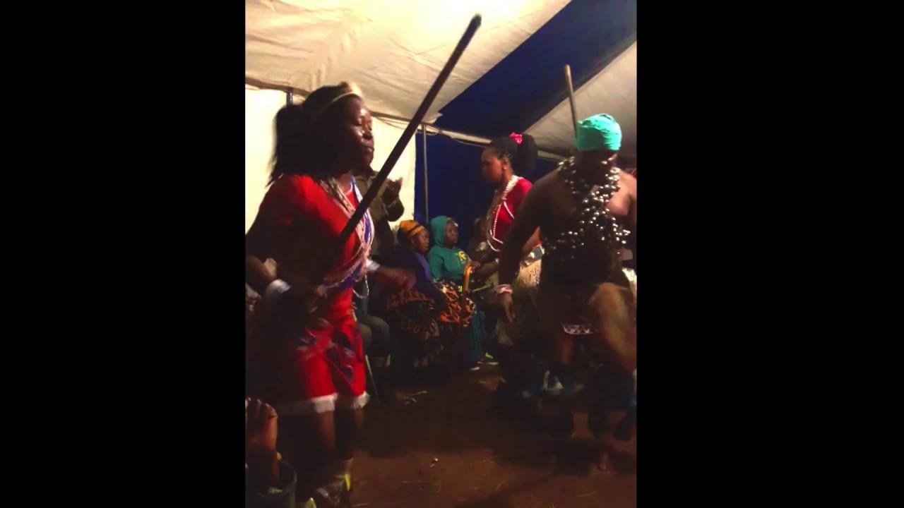 Lesotho Sangoma (Traditional Healer/Shaman) Initiation Ritual Pt 3 -  Ancestral Dancing