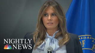 First Lady Melania Trump Speaks Out Against Cyberbullying | NBC Nightly News