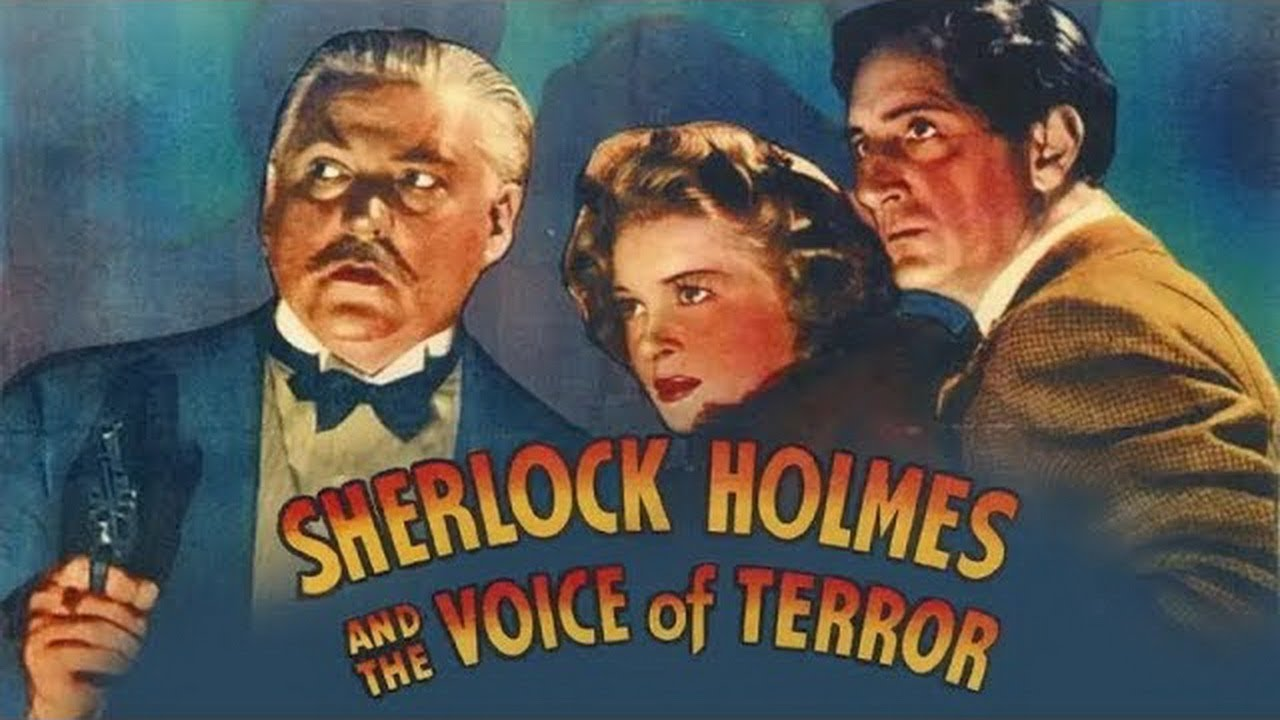 Download Sherlock Holmes And The Voice Of Terror (1942) Full English Movies | Classic Hollywood Movies