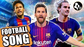 ♫ GRIEZMANN, MESSI & NEYMAR 😂 BARCELONA FOOTBALL SONG!