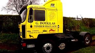 man f90 v10 engine sound straight though pipes 19 502 truck tractor unit lkw hgv camion road drive