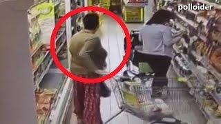 Señora deja increíble regalito en el supermercado - Fauna de supermercado