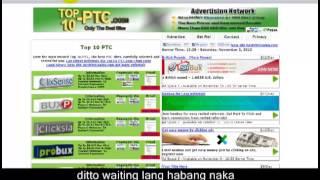 PTC explained kung paano ang kitaan sa Paid to click
