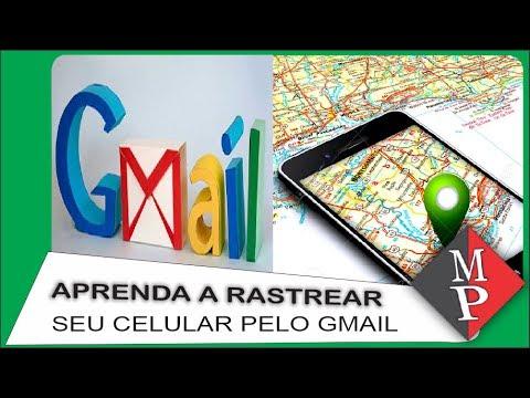 como localizar celular via gmail