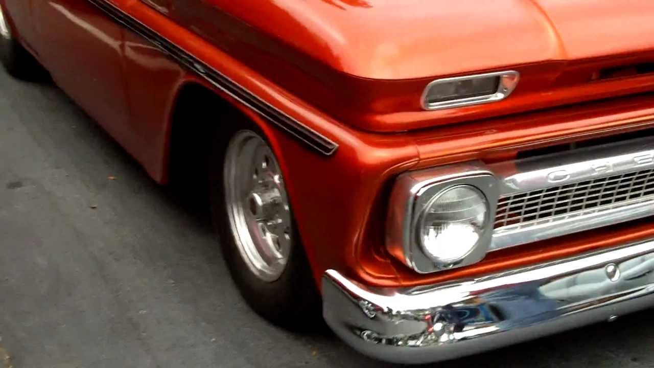 Classic Chevy Truck Tubbed Out - YouTube