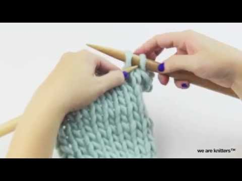 Maschen Abketten Stricken Für Anfänger We Are Knitters Youtube