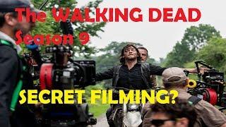 The Walking Dead Season 9 - Rick Grimes SECRET FILMING