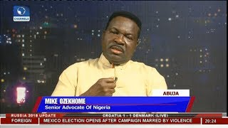 Ozekhome Faults Appointment Of Nigeria's Security Chiefs | Sunday Politics |