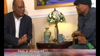 2011 HAITI PRESIDENTIAL CANDIDATE MR. PAUL MAGLOIRE