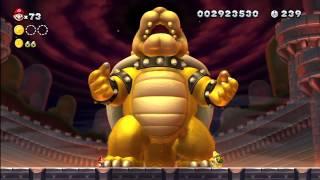 Super Mario Bros Wii U  en español Parte 24 Final