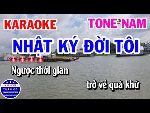 Karaoke Nhật Ký Đời Tôi !! Nguyên hùng