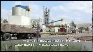 Turboden - Heat Recovery from Cement Production Process using Organic Rankine Cycle Technology