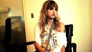 Juliet Simms of Automatic LoveLetter for Broken Records Magazine