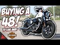 Buying A Harley-Davidson 48 🛠 To Give Away! (S3 Ep2)