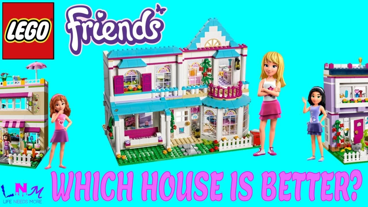 Lego Friends Stephanies House Review Comparsion With Olivias And