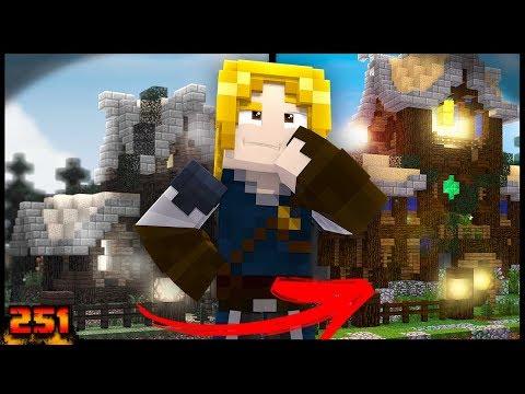 RECRIANDO CASA NO MINECRAFT DEPOIS DE 2 ANOS!! - Forever Mapa #251 - Minecraft