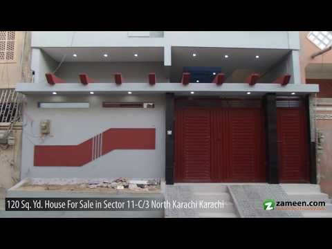 120 Sq. Yd. HOUSE FOR SALE IN SECTOR 11-C/3 NORTH KARACHI
