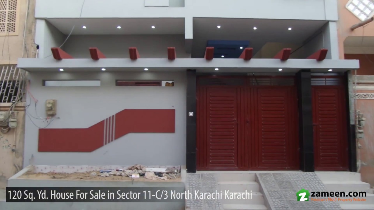 120 Sq  Yd  HOUSE FOR SALE IN SECTOR 11-C/3 NORTH KARACHI