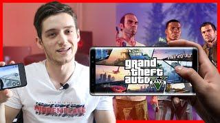 ADAMLAR YAPMIŞ (!) ( Mobil GTA 5 İncelemesi )