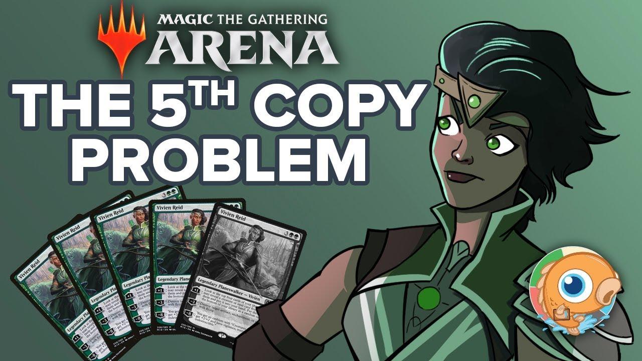 Magic Arena: The 5th Copy Problem