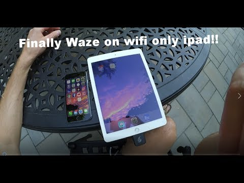 HOW TO: Get GPS on your Wifi-only iPad! Full & Fast Step-By-Step Process.