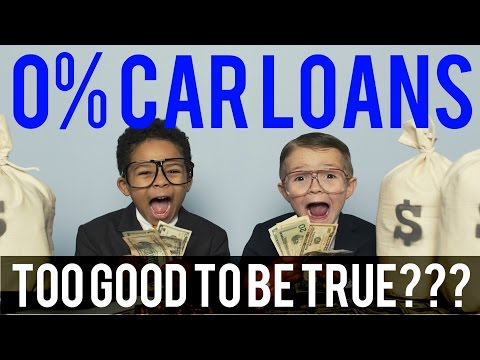 Are 0% car loans too good to be true? How to know