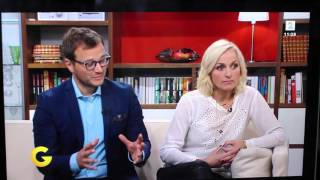 Andrea Badendyck på God morgen Norge 06.10.2015