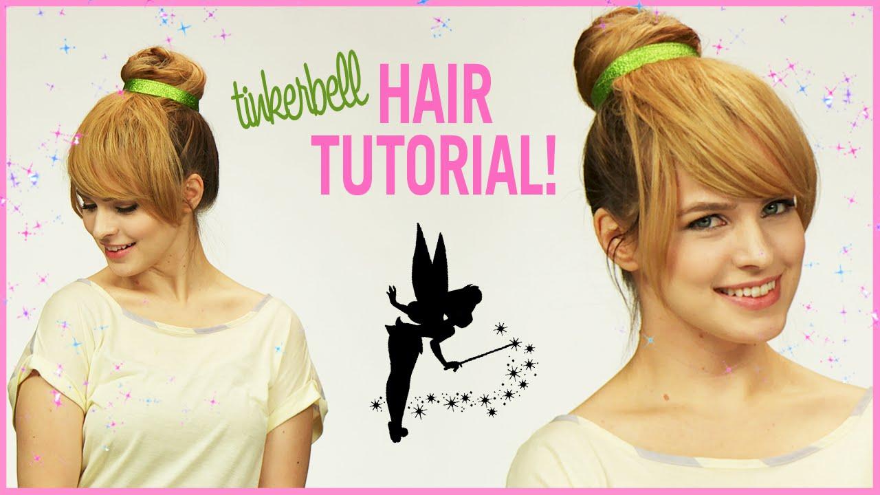 How to Make a Tinkerbell Bun