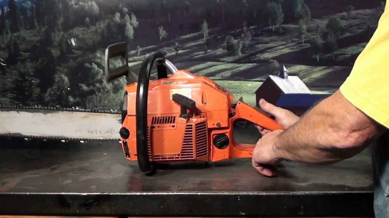The chainsaw guy shop talk Husqvarna 266 XP Chainsaw 9 26