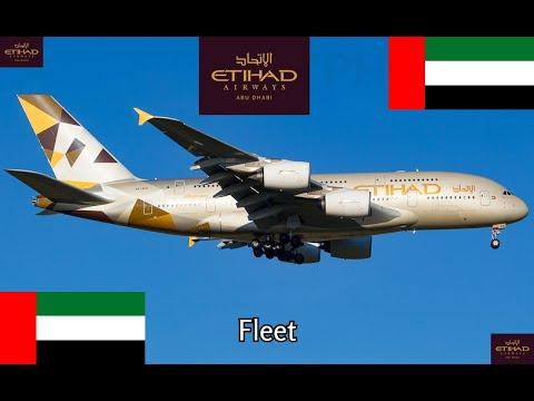 Etihad Airways fleet as of September 2017